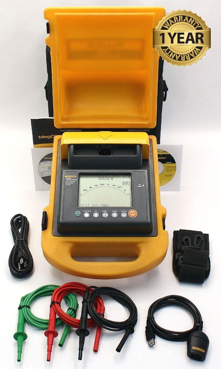 Fluke 1550B Digital MegOhmMeter High Voltage Tester