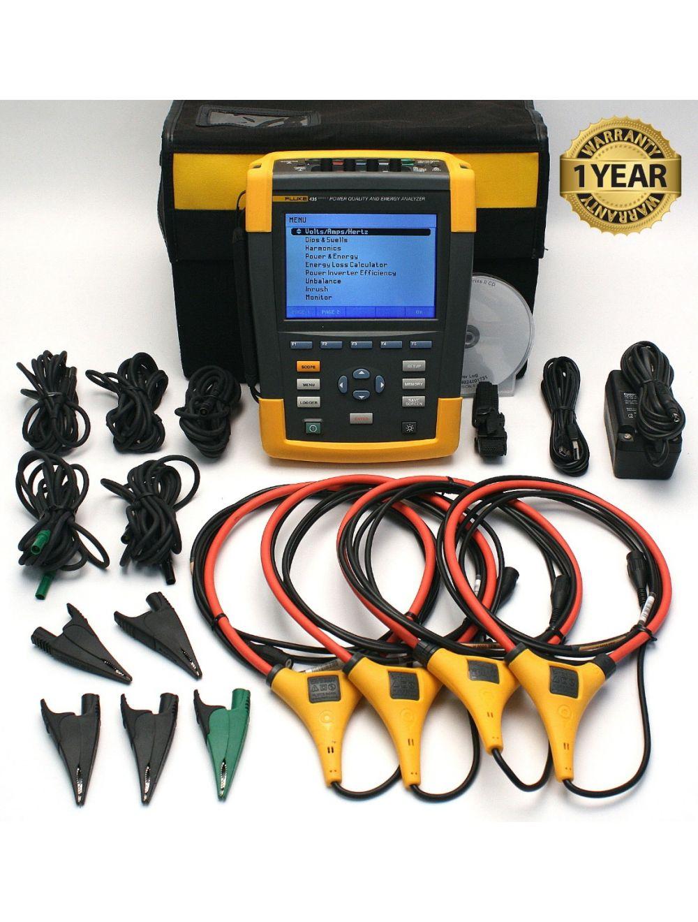 Fluke 435 Series II Power Quality Analyzer Meter