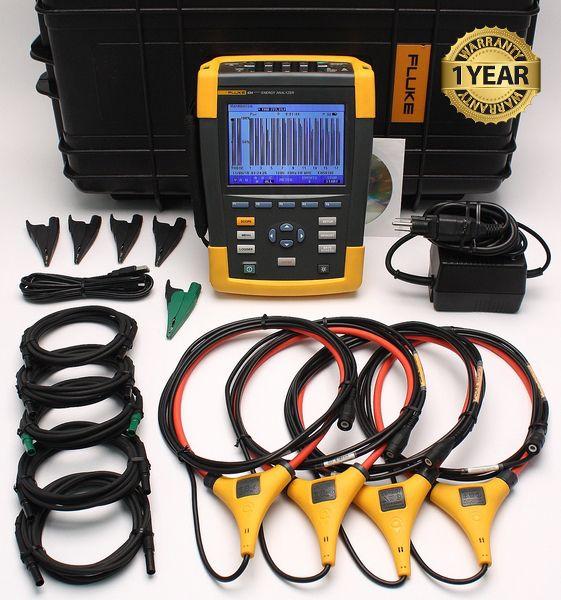 Fluke 434 Series II 3 Phase Power Quality yzer on