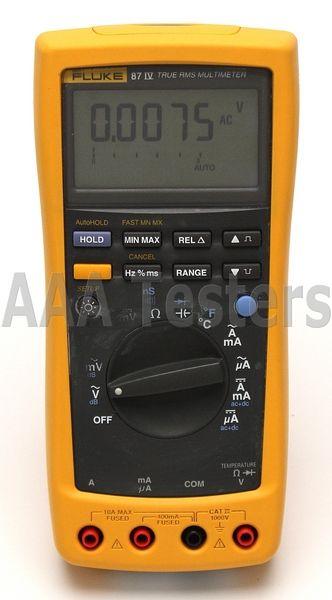 Fluke 87 IV True RMS Industrial Digital Multimeter