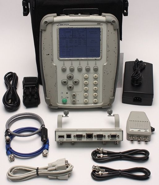 AeroFlex IFR 3500 1 GHz Portable Radio Test Set