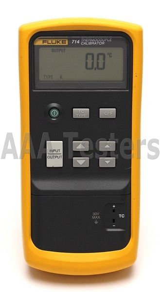 Fluke 714 thermocouple calibrator.